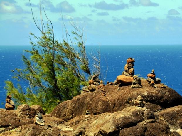 Zen Garden at Maui Photographic Print